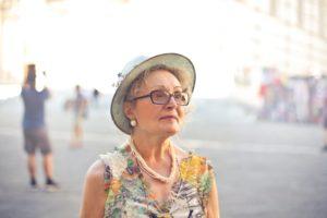 older adult woman