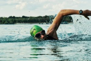 swimmer - active lifestyle
